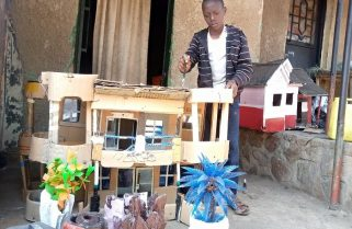 Engineer in the Making: How COVID-19 Lockdown Helped 13-yr Old Hakizimana Discover Gifted Hands