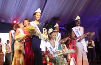Kundwa Doriane Crowned Miss Rwanda 2015
