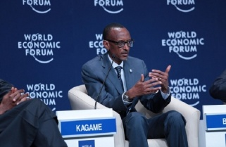 Kagame Joins World Leaders in Davos to Discuss 4th Industrial Revolution