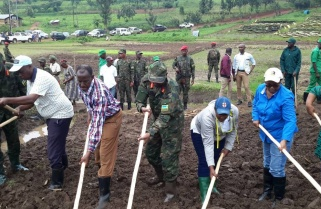 RDF Stages Fight against Food Insecurity