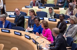 First Lady Attends High-profile Events Promoting Women And Children's Rights