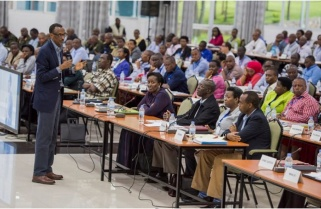 Kagame Not Satisfied, Says His Government Operating At 40% Ability