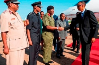 Kagame In Uganda For Northern Corridor Summit