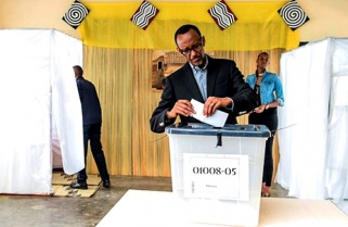 Kagame Rejects He Will Be President For life