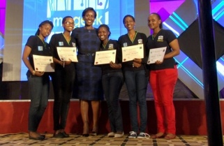 Rwanda's First Lady Inspires Girls into ICT Innovation