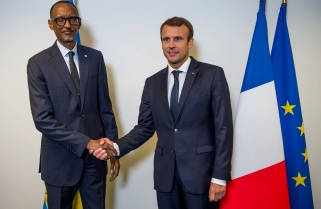 Kagame Meets Macron, Netanyahu on Sidelines of UN General Assembly