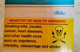 Tobacco Packaging Without Health Warning to be Impounded