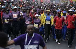 First Ladies of Rwanda, Kenya Ready for Kigali Peace Marathon