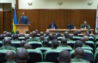 Kagame Meets RDF High Command
