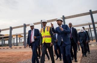 Kagame Launches $25M Precast Factory