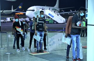 PICTORIAL: 6th Batch of Refugees and Asylum Seekers From Libya Arrives in Rwanda