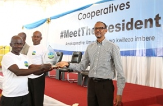 Rwanda's president orders for cooperative bank