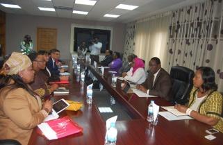 South African MPs visit Rwandan Parliament