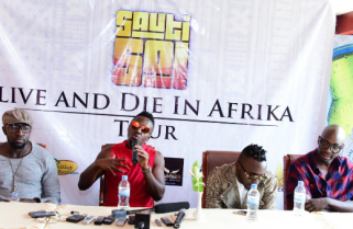Shakeup this Weekend with Sauti Sol