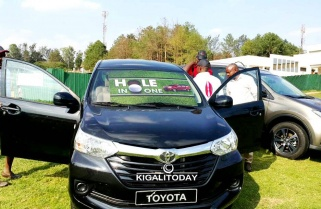 Rwandans Fail to Win Toyota Avanza in 18 hole Golf Tournament