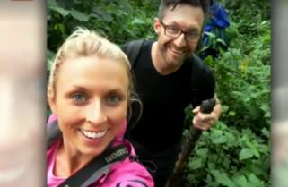 Rwanda Gorillas Bless Australian Couple on Honeymoon