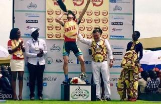 Tour du Rwanda Begins, Timothy Rugg Captures Yellow